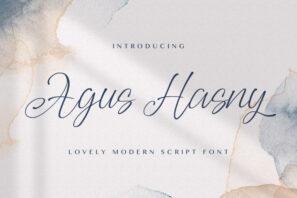 Agus Hasny - Love Script Font