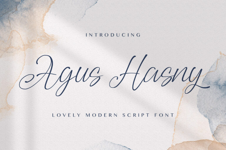 Preview image of Agus Hasny – Love Script Font