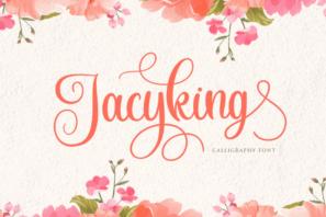 Jacyking - Lovely Script Font