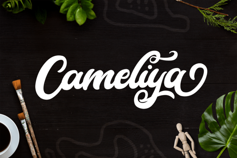 Preview image of Cameliya – Bold Script Font