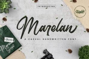 Marelan - Casual Handwritten Font