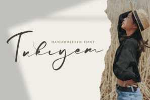 Tukiyem - Handwritten Font