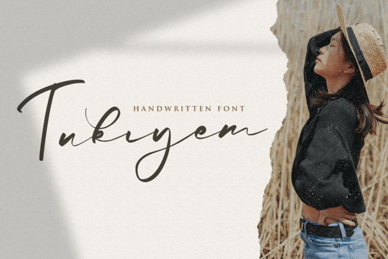 Preview image of Tukiyem – Handwritten Font