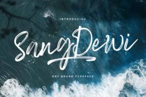 Sang Dewi - Handbrush Script Font