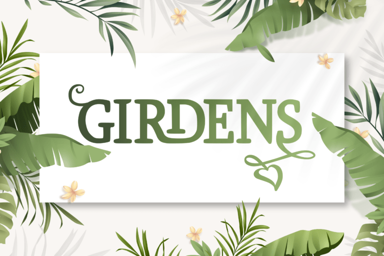 Preview image of Girdens – Decorative Serif Font
