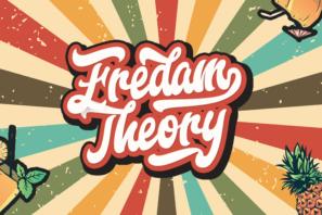 Fredam Theory - Retro Bold Script Font