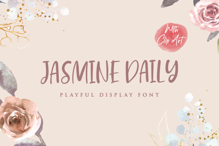 Preview image of Jasmine Daily – Playful Display Font