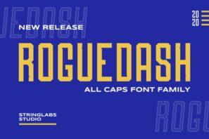 Roguedash - Stylish Sans Font Family