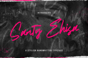 Santy Ehisa - Stylish Script Font