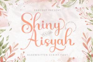 Shiny Aisyah - Handwritten Font