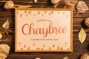 Chaybree - Handwritten Font
