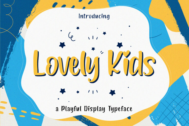 Preview image of Lovely Kids – Playful Font