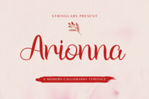 Arionna - Modern Calligraphy Font