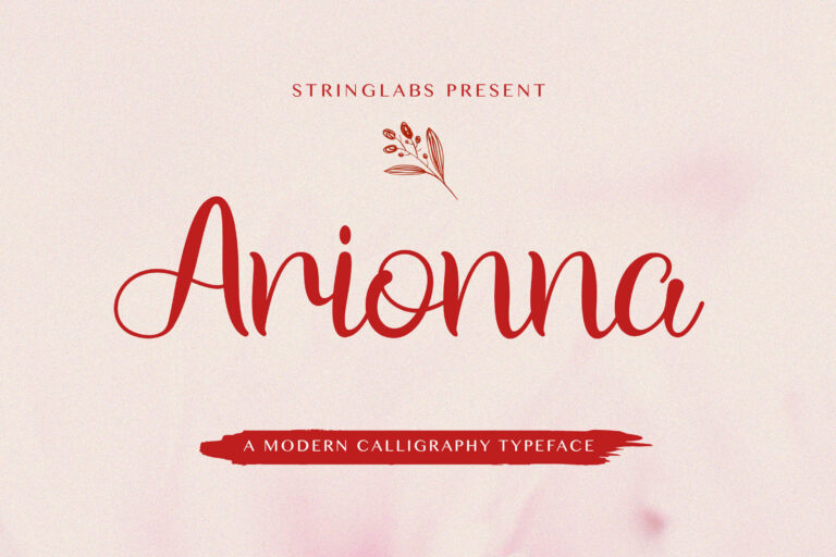 Preview image of Arionna – Modern Calligraphy Font