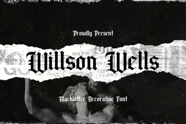 Preview image of Wilson Wells – Blackletter Font