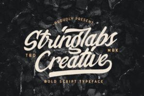 Stringlabs Creative - Bold Script Font