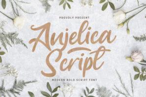 Anjelica Script - Bold Script Font