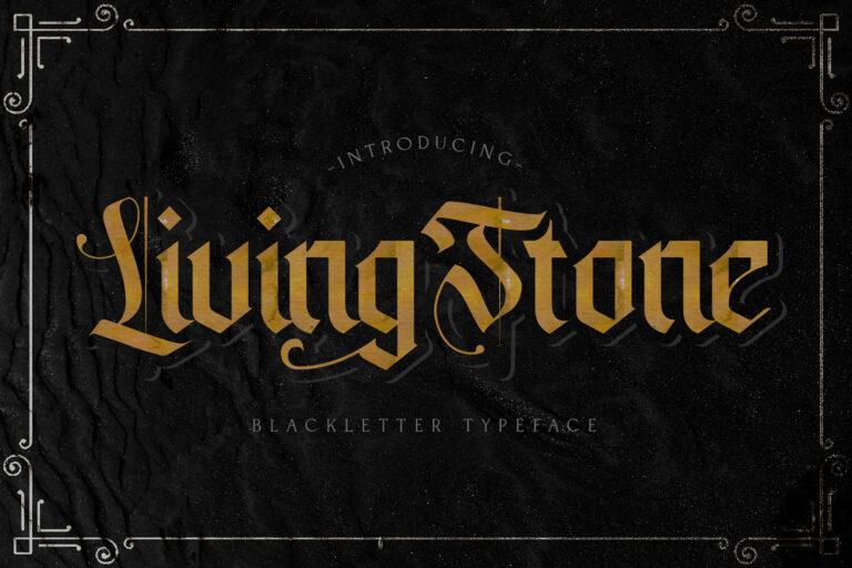 Preview image of Livingstone – Blackletter Font