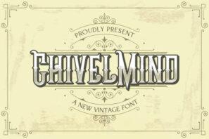 Chivel Mind - Vintage Font