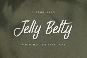 Jelly Belty! - Handwritten Font