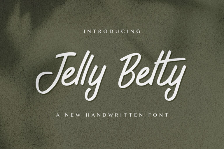 Preview image of Jelly Belty! – Handwritten Font