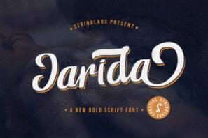 Jarida - Bold Script Font