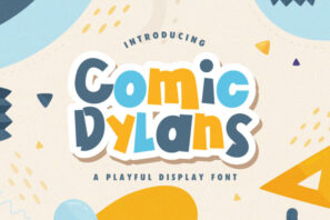 Comic Dylans - Playful Display Font