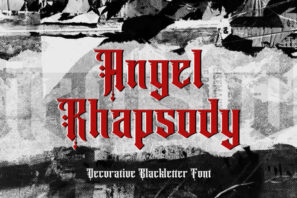 Angel Rhapsody - Blackletter Font