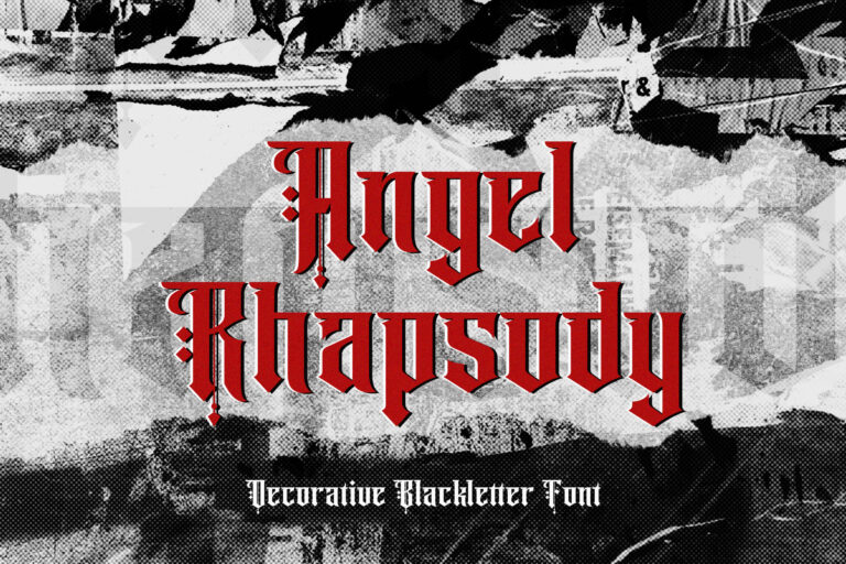 Preview image of Angel Rhapsody – Blackletter Font