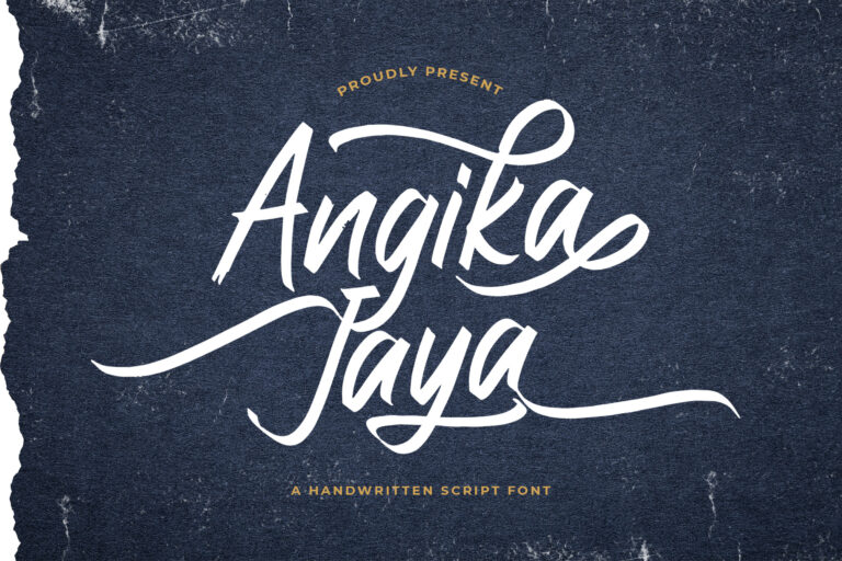 Preview image of Angika Jaya – Handwritten Font
