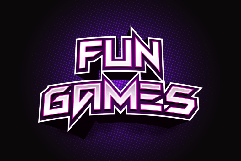 Preview image of Fun Games – Futuristic Display Font