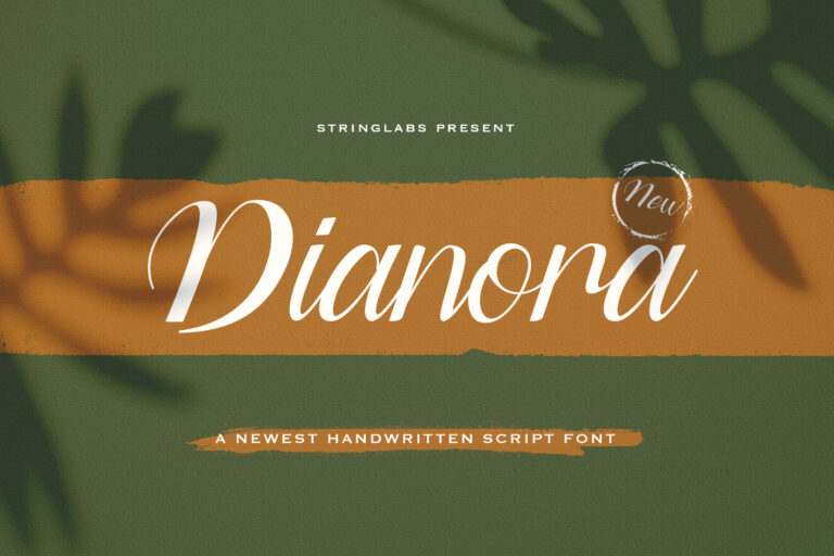 Preview image of Dianora – Handwritten Font