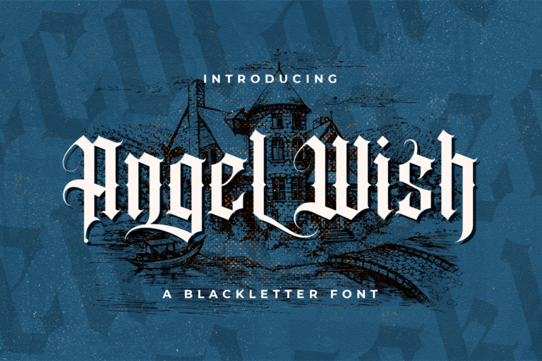 Preview image of Angel Wish – Blackletter Font