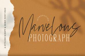 Marvelous Photograph - Font Duo