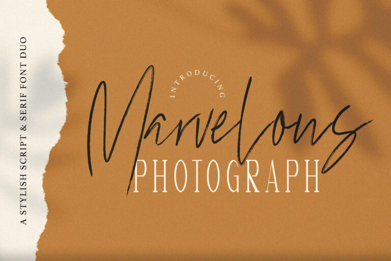 Preview image of Marvelous Photograph – Font Duo