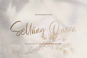 Sellviny Queen - Handwritten Font