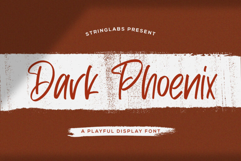 Preview image of Dark Phoenix – Playful Display Font