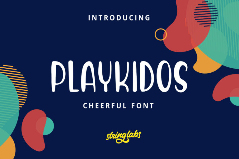 Preview image of Playkidos – Playful Font