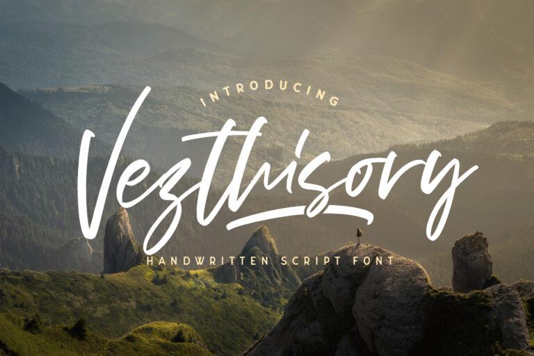 Preview image of Vezthisory – Handwritten Font