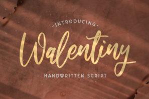 Walentiny - Handwritten Font