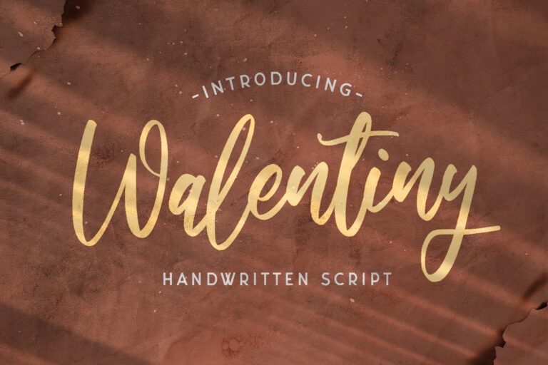 Preview image of Walentiny – Handwritten Font