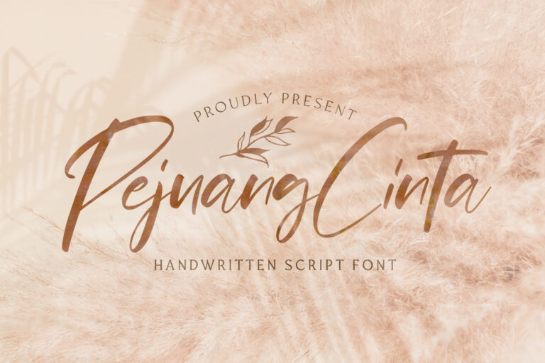 Preview image of Pejuang Cinta – Handwritten Font