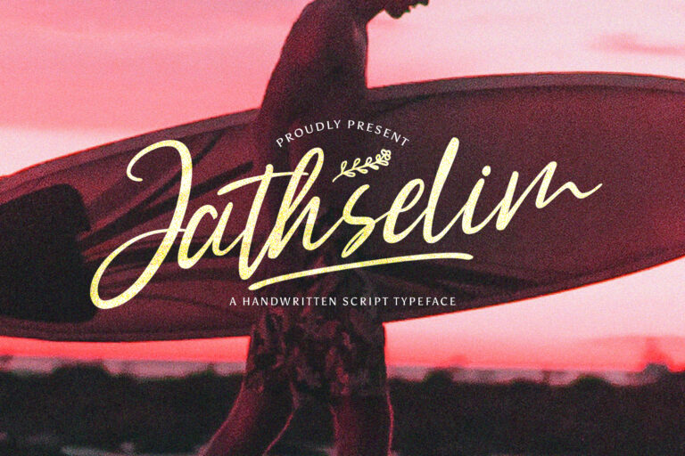 Preview image of Jathselim – Handwritten Font