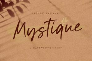 Mystique - Luxury Signature Font
