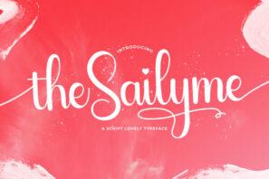 Sailyme - Lovely Script Font