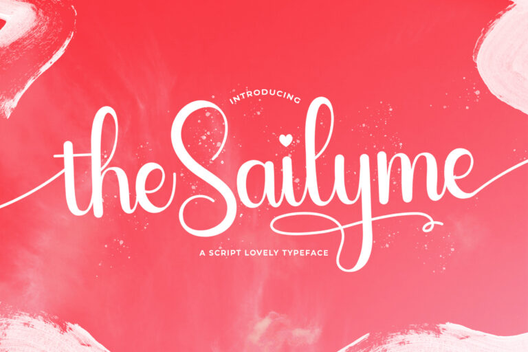 Preview image of Sailyme – Lovely Script Font