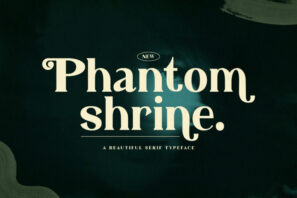 Phantom Shrine - Beautiful Serif Font