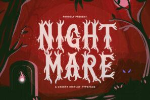 Nightmare - Horror Font