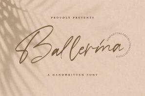 Ballerina - Signature Script Font