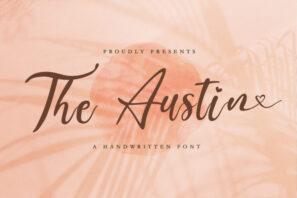 The Austin - Handwritten Font